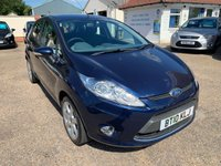USED 2010 10 FORD FIESTA 1.2 ZETEC 5d 81 BHP FULL SERVICE HISTORY