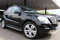 2010 MERCEDES-BENZ M CLASS 3.0 ML300 CDI BLUEEFFICIENCY SPORT 5d AUTO 204 BHP £8990.00