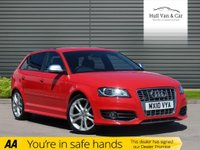 USED 2010 10 AUDI A3 2.0 S3 QUATTRO 5d AUTO 265 BHP AUTO,LOW MILEAGE,POWER,LEATHER