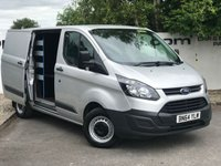 USED 2014 64 FORD TRANSIT CUSTOM  310 2.2 100 BHP L1 H1 WORKSTATION **CHOOSE FROM OVER 85 VANS