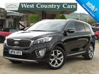 USED 2016 16 KIA SORENTO 2.2 CRDI KX-4 ISG 5d AUTO 197 BHP Low Mileage Automatic 7 Seat SUV