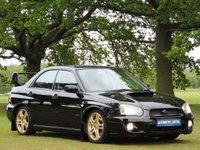 2004 SUBARU IMPREZA 2.0 WRX TURBO 4d 224 BHP £7290.00