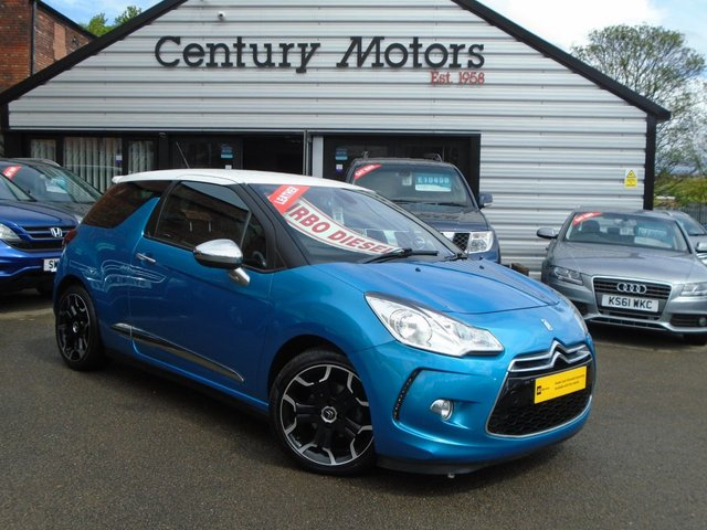 2013 63 CITROEN DS3 1.6 E-HDI AIRDREAM DSPORT PLUS 3d + FULL LEATHER