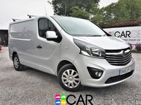 USED 2015 65 VAUXHALL VIVARO 1.6 2700 L1H1 CDTI P/V SPORTIVE 1d 114 BHP 1 OWNER FROM NEW +FULL SERVICE