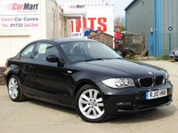 USED 2010 10 BMW 1 SERIES 2.0 120D SE 2d AUTO 175 BHP 2 OWNERS | F/S/H | PARK AID