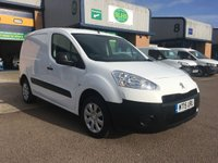 USED 2015 15 PEUGEOT PARTNER 1.6 HDI PROFESSIONAL L1 850 1d 89 BHP A/C, BLUETOOTH, P/SENSORS, E/W, 6 MONTHS WARRANTY & FINANCE ARRANGED. A/C, E/W, Bluetooth, 3 seats, CD/radio, driver's airbag, factory fitted bulk head, Side loading door, 1 Owner, remote Central Locking, Drivers Airbag, DAB Radio, Steering Column Radio Control, Side Loading Door, Barn Rear Doors, spare key, finance arranged on site & 6 months premium Autoguard warranty.