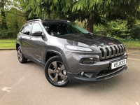 USED 2016 16 JEEP CHEROKEE 2.2 M-JET II 75TH ANNIVERSARY 5d AUTO 197 BHP 75TH LIMITED EDITION