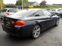 USED 2014 14 BMW 4 SERIES 2.0 420D M SPORT 2d 181 BHP The benchmark sports coupe; Sharp, sporting looks!