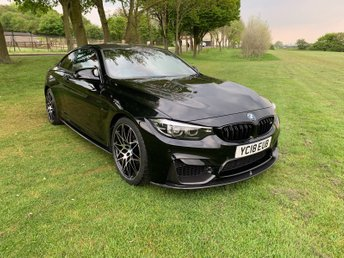 2018 BMW 4 SERIES 3.0L M4 COMPETITION 2d 444 BHP £38495.00