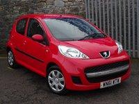 2011 PEUGEOT 107 1.0 URBAN 5d 68 BHP £2995.00