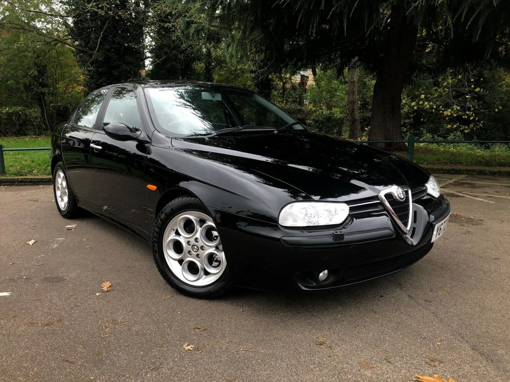 USED 2001 Y ALFA ROMEO 156 1.8 T.SPARK 16V VELOCE 4d 139 BHP Best 156 in the UK..
