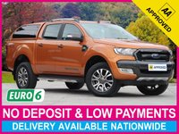 USED 2017 17 FORD RANGER 3.2 TDCI WILDTRAK AUTOMATIC DOUBLE CAB HARDTOP CANOPY EURO 6 SATELLITE NAVIGATION CLIMATE CRUISE CONTROL