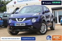 USED 2016 66 NISSAN JUKE 1.6 N-CONNECTA XTRONIC 5d AUTO 117 BHP