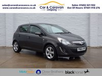 USED 2014 64 VAUXHALL CORSA 1.4 SXI AC 5d 98 BHP All Vauxhall History Air Con Buy Now, Pay Later Finance!