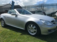 2006 MERCEDES-BENZ SLK 1.8 SLK200 KOMPRESSOR  64000 miles last owner 11 years  £4495.00