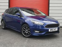 USED 2015 15 FORD FOCUS 1.5 ZETEC S TDCI 5d 118 BHP