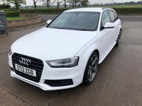 USED 2013 13 AUDI A4 2.0 AVANT TDI BLACK EDITION 5d 174 BHP