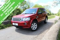 2013 LAND ROVER FREELANDER 2 2.2 SD4 GS 5d AUTO 190 BHP (FREE 2 YEAR WARRANTY) £SOLD