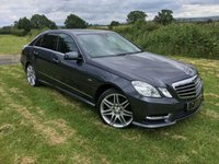 USED 2012 12 MERCEDES-BENZ E CLASS 3.0 E350 CDI BlueEFFICIENCY Sport Edition 125 G-Tronic 4dr SUPERB CONDITION LOW MILES