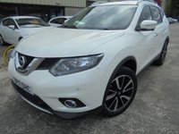 USED 2017 17 NISSAN X-TRAIL 1.6 N-VISION DCI 5d 130 BHP Brilliant 7 Seater SUV, Excellent Condition, No Deposit Finance Available, Part Exchange Welcomed, FSH, High Spec