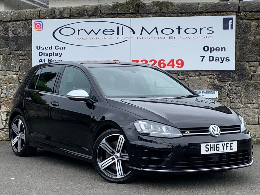 USED 2016 16 VOLKSWAGEN GOLF 2.0 R 5d 298 BHP LOW RATE FINANCE AVAILABLE++FULL SERVICE HISTORY+2 OWNERS FROM NEW+ADAPTIVE CRUISE CONTROL