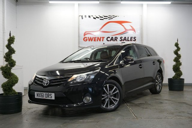 USED 2012 61 TOYOTA AVENSIS 2.0 TR D-4D 5d 124 BHP *ONLY 75K, GOOD SPEC, SERVICE HIST*
