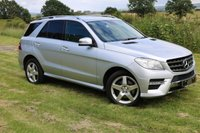 USED 2012 62 MERCEDES-BENZ M CLASS  2.0 ML250 CDI BlueTEC Sport 5dr SAT NAV FSH (NEW MODEL)