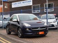 USED 2014 64 VAUXHALL ADAM 1.2 JAM 3d 69 BHP BLUETOOTH ~ DAB ~ AIR CON ~ CRUISE CONTROL ~ FULL HISTORY