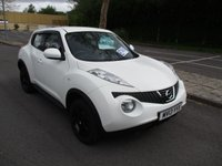 USED 2013 13 NISSAN JUKE 1.6 VISIA 5d 93 BHP WAS £6,495 NOW ONLY £5,995 !!
