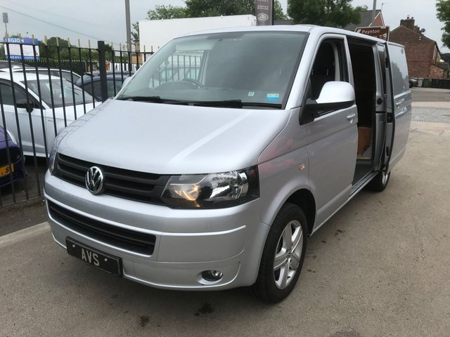 View our VOLKSWAGEN T5 TRANSPORTER