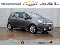 USED 2017 17 VAUXHALL MERIVA 1.4 TECH LINE 5d 99 BHP One Owner Full Service History Buy Now, Pay Later Finance!