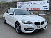 USED 2016 16 BMW 2 SERIES 1.5 218I SPORT 2d AUTO 134 BHP AUTOMATIC+FINANCE AVAILABLE+SATELLITE NAVIGATION+CRUISE CONTROL