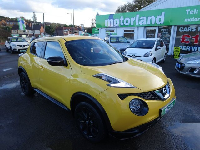 USED 2015 15 NISSAN JUKE 1.5 ACENTA PREMIUM DCI 5d 110 BHP **CALL 01543 877320 FOR MORE INFO**