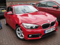 2016 BMW 1 SERIES 1.5 116D SE 5d AUTO 114 BHP EURO 6 £9750.00