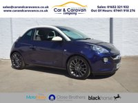 USED 2015 65 VAUXHALL ADAM 1.4 GLAM 3d 85 BHP 1 Owner Full Vauxhall History Buy Now, Pay Later Finance!