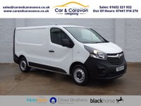 USED 2015 64 VAUXHALL VIVARO 1.6 2700 L1H1 CDTI P/V ECOFLEX 1d 89 BHP One Owner Full Service History Buy Now, Pay Later Finance!