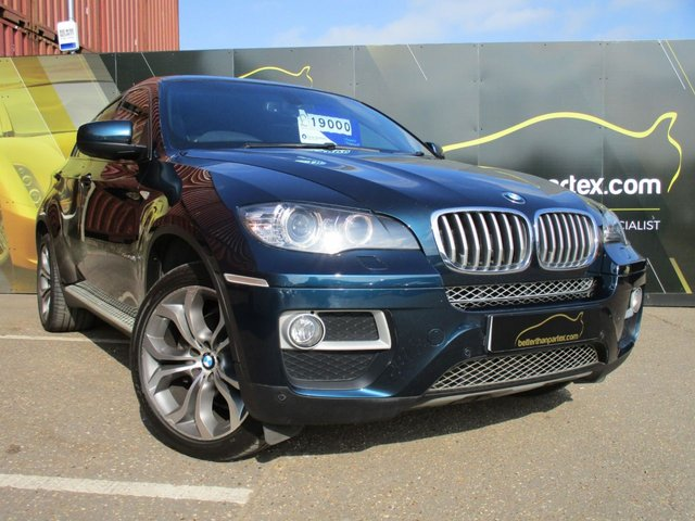 2013 63 BMW X6 3.0 XDRIVE40D 4d AUTO 302 BHP TWIN TURBO REVERSE CAMERA SAT NAV