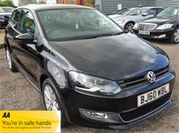 USED 2010 60 VOLKSWAGEN POLO 1.2 SEL TSI 3d 103 BHP SERVICE BOOK WITH 7 STAMPS EXPERIAN CHECK CLEAR X2 KEYS & 1 PREVIOUS KEEPER