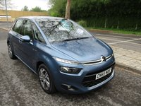USED 2015 65 CITROEN C4 PICASSO 1.6 BLUEHDI EXCLUSIVE 5d 118 BHP WAS £11,495 NOW ONLY £10,995 !!