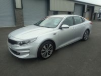 2015 KIA OPTIMA 1.7 CRDI 3 ISG 4d 139 BHP LEATHER SAT NAV £6491.00