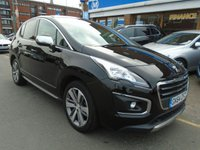 USED 2014 64 PEUGEOT 3008 1.6 HDI ALLURE 5d 115 BHP ONLY 36,000 MILES!