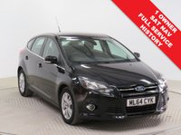USED 2014 64 FORD FOCUS 1.0 TITANIUM NAVIGATOR 5d 124 BHP Stunning Ford Focus 1.0 Titanium Navigator in Metallic Panther Black having just had 1 previous Owner and comes with Full Service History. In addition to SAT NAV this car comes with an array of equipment including Parking Sensors, Heated Front and Rear Windscreens, Bluetooth, Air Conditioning, Dab Radio/CD, USB/AUX, Leather Multi Functional Steering Wheel, Cruise Control, Electrically Operated Folding Wing Mirrors, Alloy Wheels, 2 Keys and a Free Warranty. Road Fund Licence just £30.