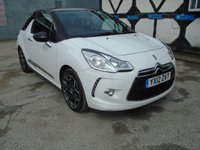 2012 CITROEN DS3 1.6 E-HDI DSTYLE PLUS 3d 90 BHP £4298.00