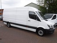 USED 2014 64 MERCEDES-BENZ SPRINTER 2.1 313 CDI LWB 1d 129 BHP
