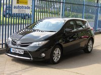 USED 2014 64 TOYOTA AURIS 1.4 ICON D-4D 5d Rear camera Bluetooth & audio Finance arranged Part exchange available Open 7 days