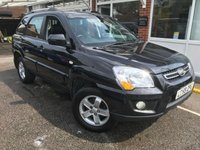 USED 2009 59 KIA SPORTAGE 2.0 XS 4WD 5dr full history leather new mot