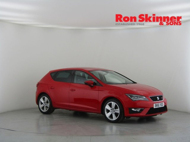 View our 2016 16 SEAT LEON 2.0 TDI FR TECHNOLOGY 5d 184 BHP