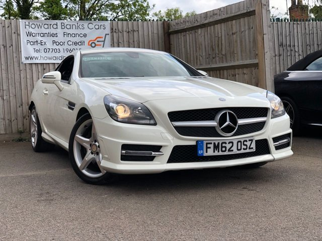 2012 62 MERCEDES-BENZ SLK 2.1 SLK 250 CDI BLUEEFFICIENCY AMG SPORT 2d AUTO 204 BHP