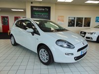 USED 2014 14 FIAT PUNTO 1.2 EASY 3d 69 BHP FULL SERVICE HISTORY + FULL MOT + AIR CONDITIONING + ALLOYS + CD RADIO + ELECTRIC WINDOWS + CENTRAL LOCKING + FRONT FOG LIGHTS + USB CONNECTION