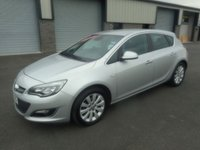 2013 VAUXHALL ASTRA 2.0 ELITE CDTI S/S 5d 163 BHP FULL BLACK LEATHER £4691.00